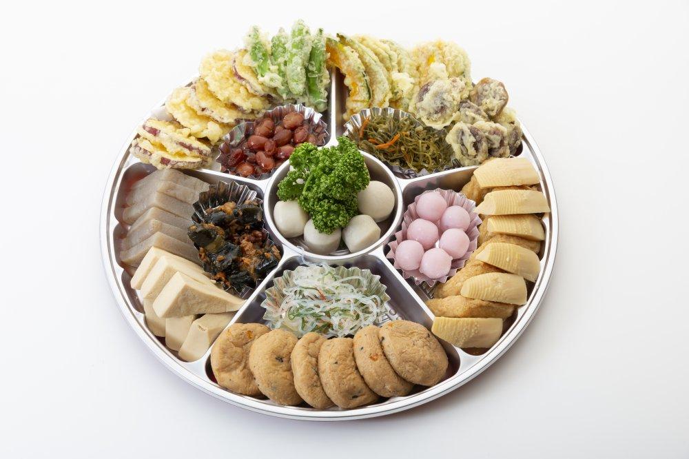 精進オードブル(野菜天ぷら入り)